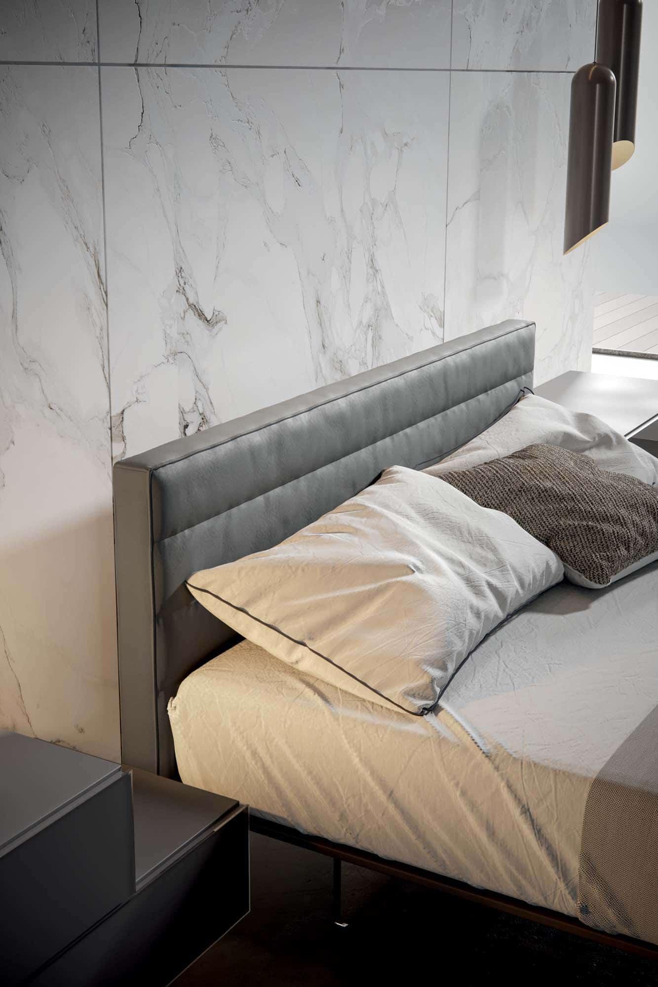 Slim Bed Veneran Mobili